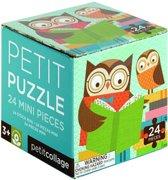 Petit Collage Puzzel Uil 24 Stukjes