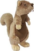 Gebr de Boon hondenspeelgoed pluche eekhoornpiep 30 cm