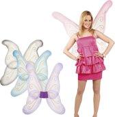 12 stuks: Vleugels Samantha in 4 kleuren - assorti - 76x80cm