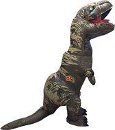 Opblaasbaar kostuum  - Verkeeldkleding -  Dino