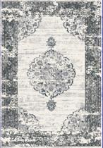 Basic Collection Vintage vloerkleed Brissac 200x290 cm -  Grijs / Creme