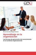 Aprendizaje En La Organizacion