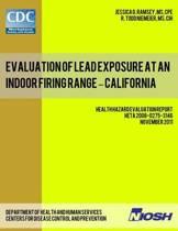 Evaluation of Lead Exposure at an Indoor Firing Range - California