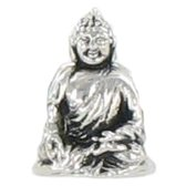 Quiges Bedel Bead - 925 Zilver - Boeddha Kraal - Z489