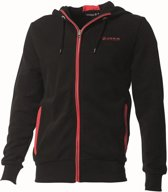 Joris Sport Hooded Sweater JLHB9000 blackred 116