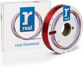REAL Filament PETG transparant rood 1.75mm (500g)