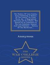 The History of Linn County, Iowa