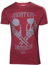 Uncharted 4 - Mortem Inimicis Suis T-Shirt - 2XL