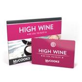High Wine thuisbezorgd 25,00 - MyCOOKS cadeaukaart