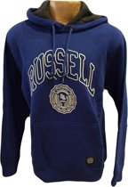 Russell Athletic Sweater met Capuchon - Kobalt - Maat L