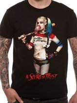 Suicide Squad Harley Quinn In Squad We Trust TShirt XL