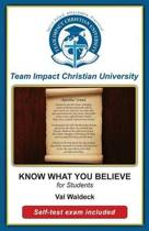 Know What You Believe for Students