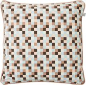 Dutch Decor Kussenhoes Vios 45x45 cm koper