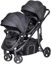 X-Adventure Tweeling kinderwagen Xline Domino