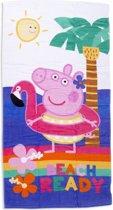 Peppa Pig Hooray - Strandlaken - 70 x 140 cm - Multi