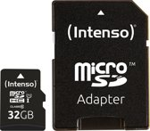 Intenso 32GB Micro SDHC 32GB Micro SDHC UHS Class 10 flashgeheugen