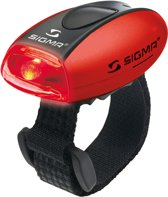 Sigma Micro - Verlichtingsset - LED - Batterij - Rood