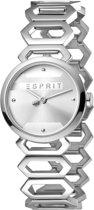 Esprit ES1L021M0015 Arc Horloge - Staal - Zilverkleurig - Ø 28 mm