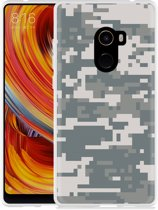 Xiaomi Mi Mix 2 Hoesje Army Digi Camouflage