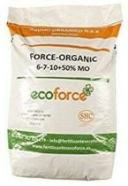 25 kg Meststof micro-gegranuleerde voor  organische planten. CULTIVERS Force Organic de 25 kg