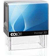 Stempel Colop 30 Blauw | Stempel laten maken | Stempels bestellen met logo en tekst | Afdrukformaat 18 x 47 mm