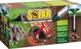 Mollenverjager op zonne-energie
