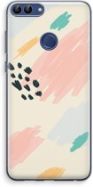 Huawei P Smart (2018) Transparant Hoesje (Soft) - Sunday Chillings