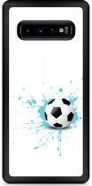 Galaxy S10 Plus Hardcase hoesje Soccer Ball