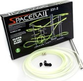 Space Rail - Glow in the dark Knikkerbaan – Spacerail lichtgevend - Bouwpakket