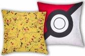 Pokémon Logo Ball Pikachu - Sierkussen - 40 x 40 cm - Multi