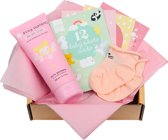 A Little Lovely Company Baby gift box: Welcome little girl (S)