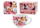 Minnie Mouse Keuken Cadeauset - Mok en Onderlegger