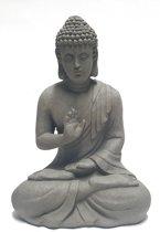 Garden Boeddha 60cm grijs
