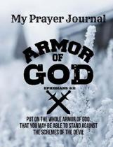 Armor of God Christian Journal - Sermon Notes Bible Study Notebook Diary