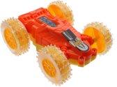 Jonotoys Omkeerbare Raceauto 10 Cm Oranje