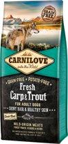 Carnilove Dog Fresh Karper en Forel 12 kg