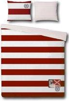 Cottonfield Caryson Dekbedovertrek - Tweepersoons - 200x200/220 cm - Red