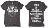Sons Of Anarchy grijs shirt heren 2xl