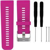 Siliconen Horloge Band Voor Garmin Vivoactive HR -  Armband / Polsband / Strap Bandje / Sportband - Paars