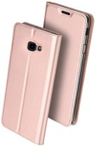 Dux Ducis Slim Softcase Booktype voor Samsung Galaxy J4 Plus - rosé gGoud