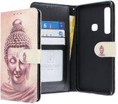 Samsung Galaxy A9 2018 hoesje - CaseBoutique - Boeddha print - Kunstleer