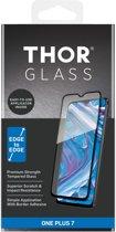 THOR Full Screenprotector + Apply Frame voor de OnePlus 7 - Zwart