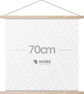 Acaza Poster Ophangsysteem - Posterhanger - 70 cm - Eik