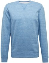 Tom Tailor - Heren Trui - Sweater - Ronde Hals - Blauw
