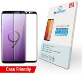 BE-SCHERM Samsung Galaxy S9 Screenprotector Glas (2x) - Tempered Glass - Case Friendly