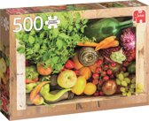 Groente en fruit krat - Puzzel 500 stukjes