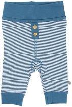 Minymo - newborn baby joggingbroek - Chin - blauw - Maat 62
