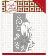 Dies - Precious Marieke - Warm Christmas Feelings - Candle Edge