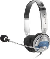 NGS MSX6Pro Headset - Grijs/Blauw - Koptelefoon - Microfoon - Hoofdtelefoon