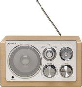 Denver TR-61 - FM Radio - Lightwood